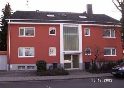 Fassade nachher (2) mit WDVS+Oberputz
